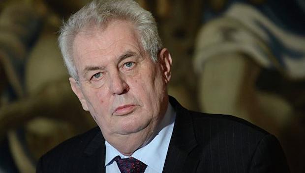 Президент Чехии неисключил возможность терактов натерритории его страны