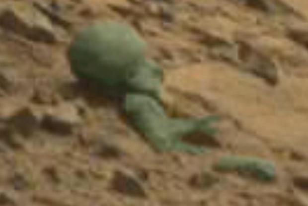 Ученые обнаружили наповерхности Марса тела инопланетян