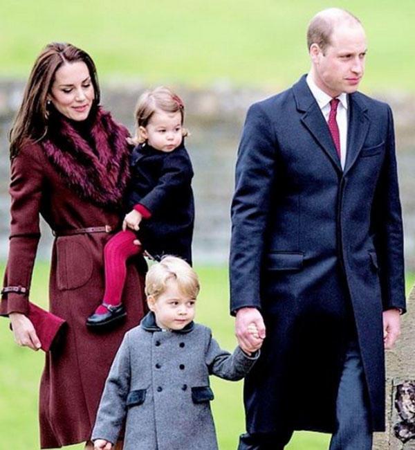 кейт миддлтон принц уильям с семьей