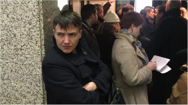Савченко обнародовала новые списки пленных