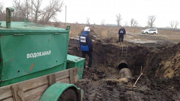ОБСЕ: Около 250 тыс граждан Луганска остались без воды