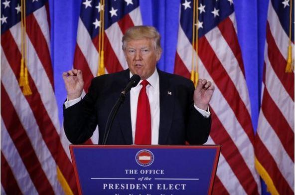 Пресс-конференция Трампа: Дональд будет дружить сПутиным ипередаст собственный  бизнес сыновьям