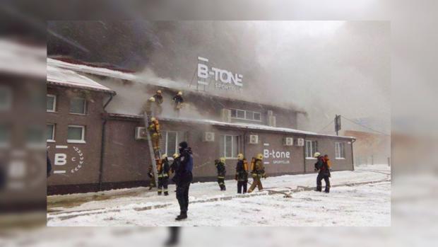 Эвакуировано 1300 детей школы исадика— Пожар вСумах