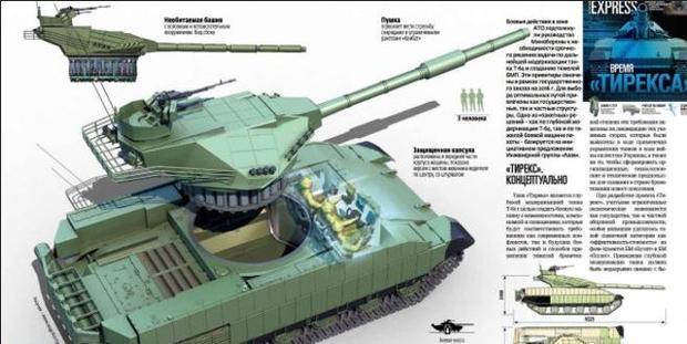 Размещен  патент нового украинского танка