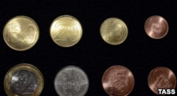 Центробанк выпустит монеты свидами Крыма