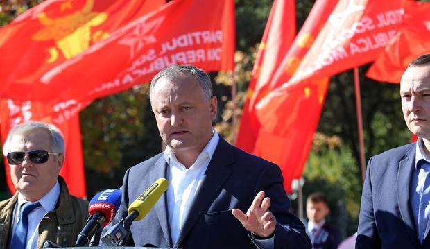 Молдавия непойдет наофициальное признание аннексии Крыма— Додон