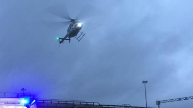 Вертолёт аварийно сел надорогу насеверо-востоке столицы — Посадка наМКАД