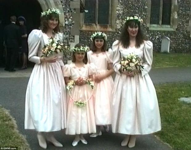 Всеть выложили видео сдевятилетней Кейт Миддлтон— Маленькая подружка невесты
