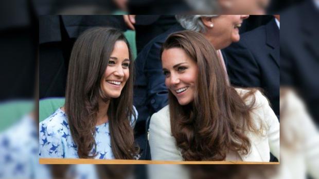 Английские СМИ опубликовали неизвестное доэтого видео подружек невесты Кейт иПиппы Мидлтон