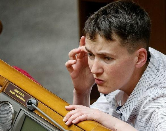 Надежда Савченко предложила «сдать» Крым Российской Федерации, чтобы вернуть Донбасс