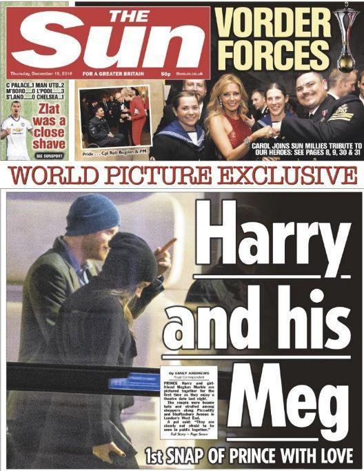 Принц Гарри сделал предложение руки исердца Меган Маркл