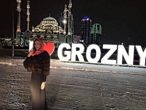 Ольга Бузова стала «лицом» популярного дома супруги Рамзана Кадырова