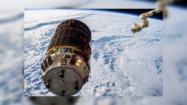 Японский грузовой корабль «Конотори-6» готовится к уборке орбиты от мусора