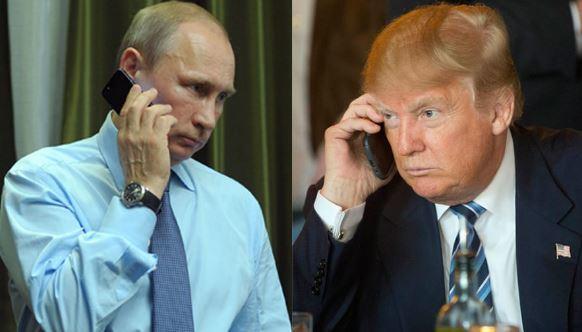 ВБелом доме подтвердили, что разговор Трампа и В.Путина состоится 28января
