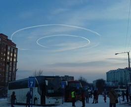 НЛО в Украине: необычное явления сняли в небе над Тернополем и Ивано-Франковском