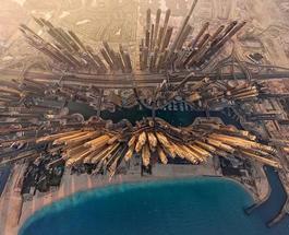 Фото городов с высоты птичьего полета