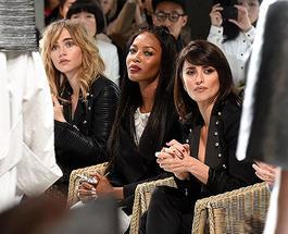 Неделя моды в Лондоне 2017: Пенелопа Крус и Наоми Кэмпбелл в первом ряду на показе Burberry