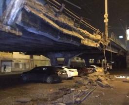 Мэр Киева Кличко объяснил, почему рухнул Шулявский мост: