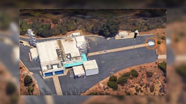 Уштаб-квартиры НАСА отмечено НЛО