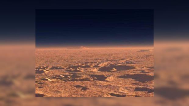 Ученые NASA показали огромные волны напеске наМарсе