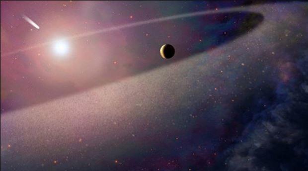 Телескоп Хаббл помог астрономам найти «убийство» мега-кометы «белым карликом»