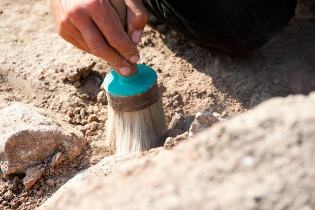ВГреции археологи обнаружили старинную могилу «воина-грифона»