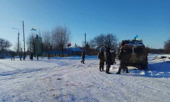 Участники блокады объявили оначале перекрытия автомобильных дорог наоккупированную территорию
