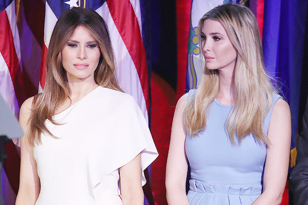 Иванка Трамп перебирает насебя роль первой леди Белого дома