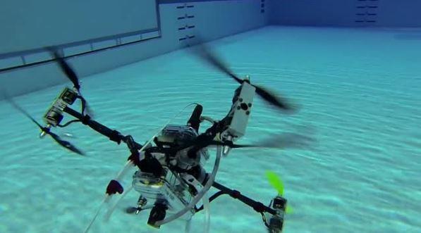 Американские инженеры создали ныряющий беспилотник для разведки морского дна
