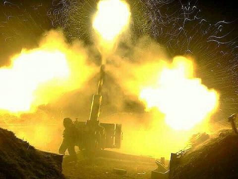 Боевики обстреляли Авдеевку изтанка, минометов ипулеметов— Штаб