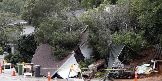 Ливни иураганный ветер обрушились наКалифорнию, есть погибшие