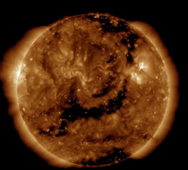 Вконце февраля граждан Земли потревожит серия магнитных бурь