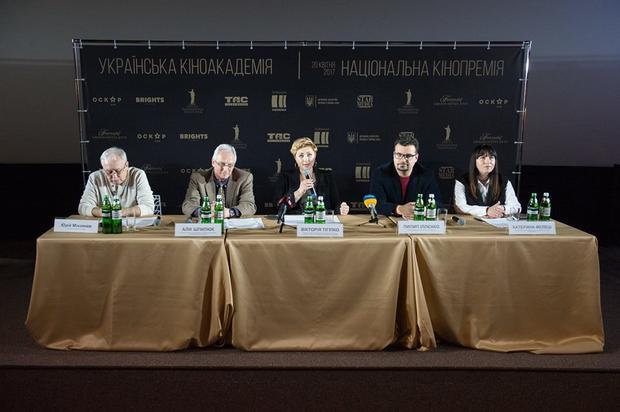 1-ый украинский «Оскар» вручат 20апреля