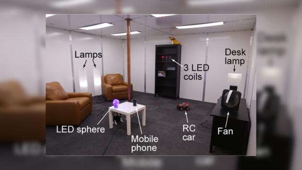 Вкомпании Disney сконструировали комнату для беспроводной зарядки устройств