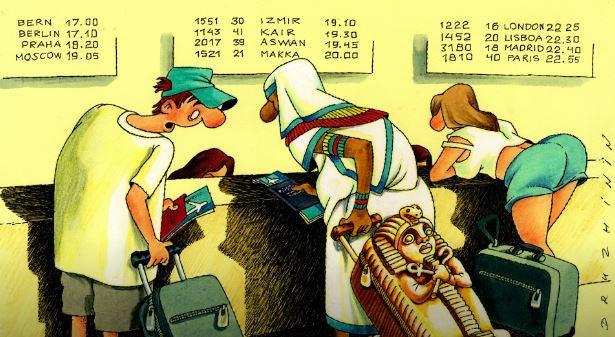 Египет увеличит стоимость пошлины на заезд