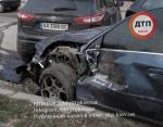 ДТП в Киеве: на проспекте Победы разбито пять автомобилей