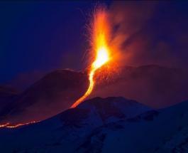В Италии проснулся крупнейший вулкан Европы: появилось первое видео