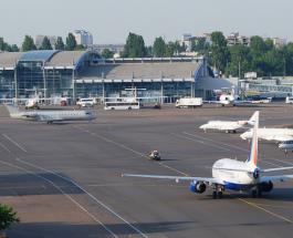 Аэропорт «Киев» закроется на десять дней из-за ремонта