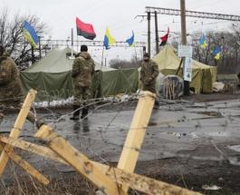 Блокада Донбасса: спецназ со стрельбой разогнал редут, есть задержанные,