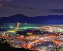 Невероятное зрелище: Японию окутал магический туман