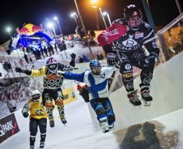 Ice Cross Downhill: самый сногсшибательный вид спорта