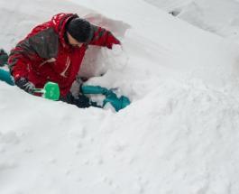 Ужасный снегопад накрыл Киев 4 года назад: как это было - фото, видео