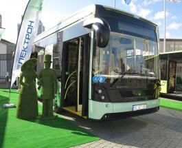 ТопЖыр: украинские автобусы Электрон на выставке в Киеве - фото