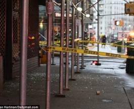 В Нью-Йорке прогремел мощный взрыв - фото