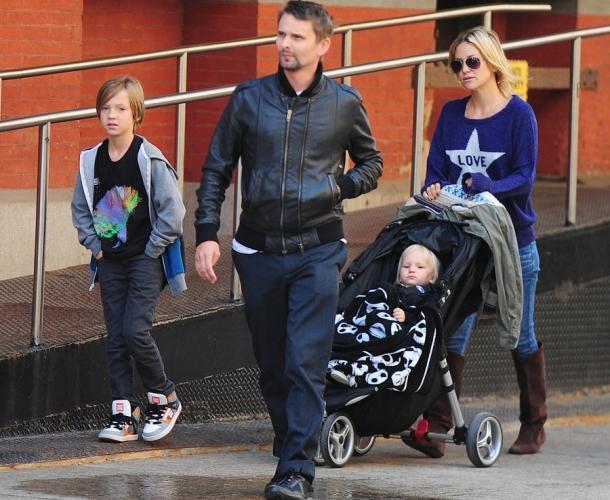 Сын Кейт Хадсон даcт показания против собственных родителей всуде