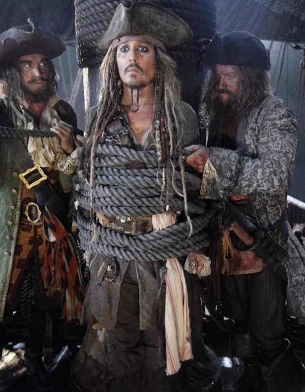 Вышел новый трейлер 5-той серии «Пиратов Карибского моря»