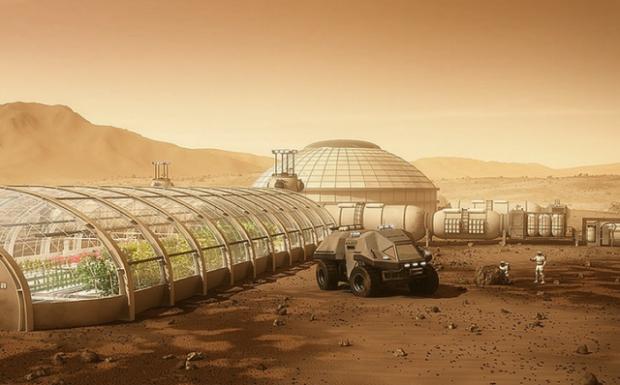NASA предложило план посозданию атмосферы наМарсе