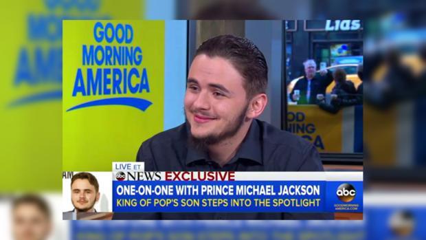Сын Майкла Джексона Принц рассказал оботце и собственной жизни без него