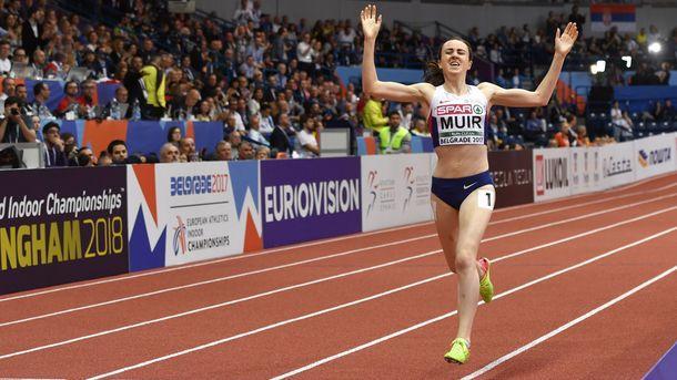 Английской легкоатлетке запретили бежать круг почёта наЧЕ вБелграде