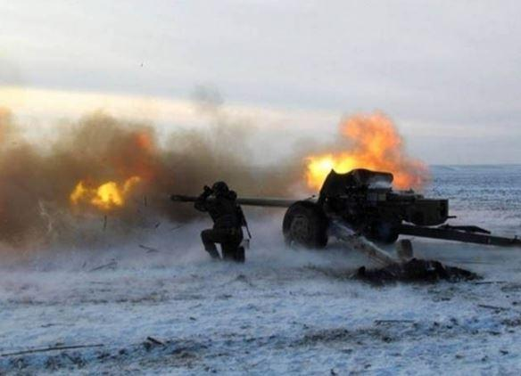 Потерь среди наших военных нет, уничтожен один вражеский снайпер,— штаб АТО